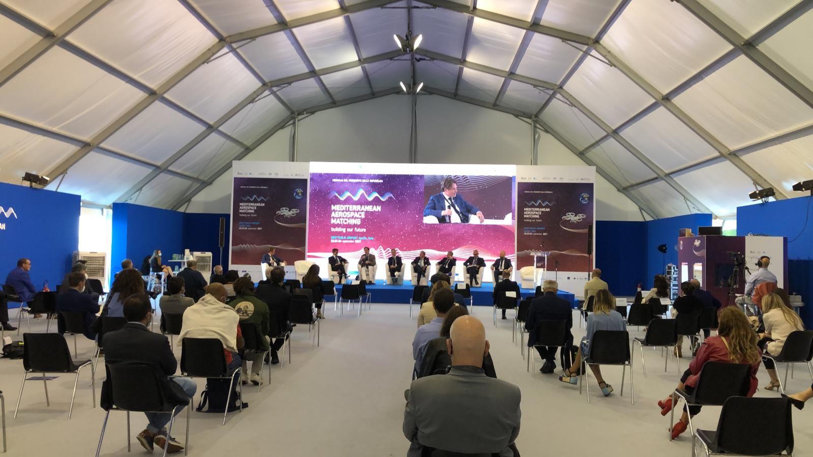 """Domani a Grottaglie la terza ed ultima giornata del Mediterranean Aerospace Matching (Mam). Focus su """"Creatività e giovani per un futuro sostenibile"""""""