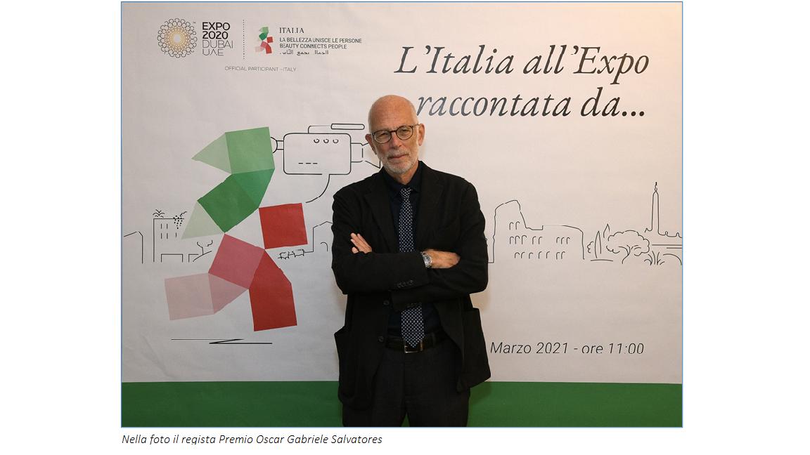 La bellezza unisce le persone: con il racconto di Salvatores l'unicità dei territori della Regione Puglia nel Padiglione Italia ad Expo Dubai