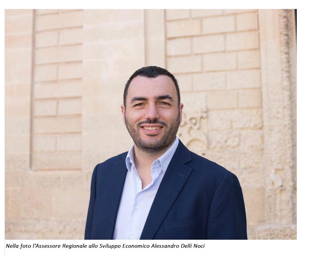 Le prossime sfide economiche della Puglia in diretta su Instagram. Appuntamento con l'assessore regionale allo Sviluppo economico Alessandro Delli Noci. Oggi, 27 aprile, 2021, alle 17,00
