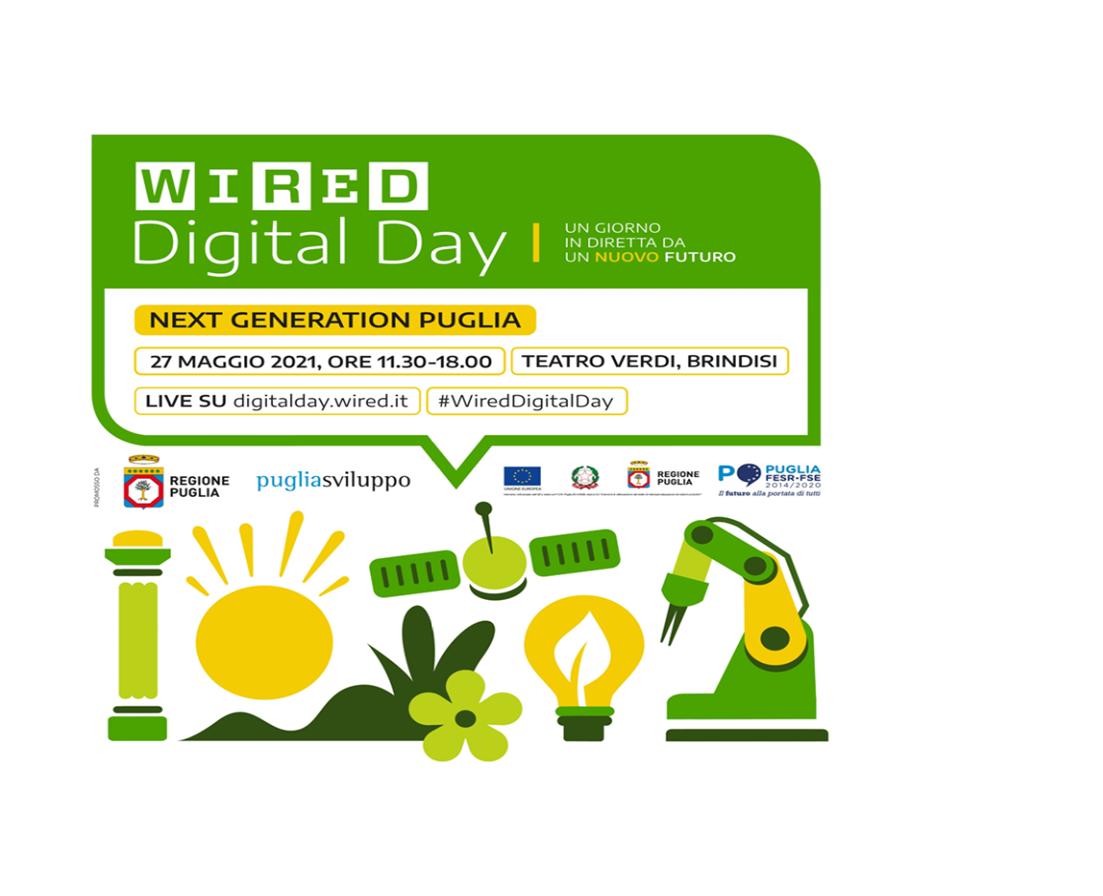 Wired Italia approda a Brindisi e torna nel Sud Italia per la quarta edizione di Wired Digital Day